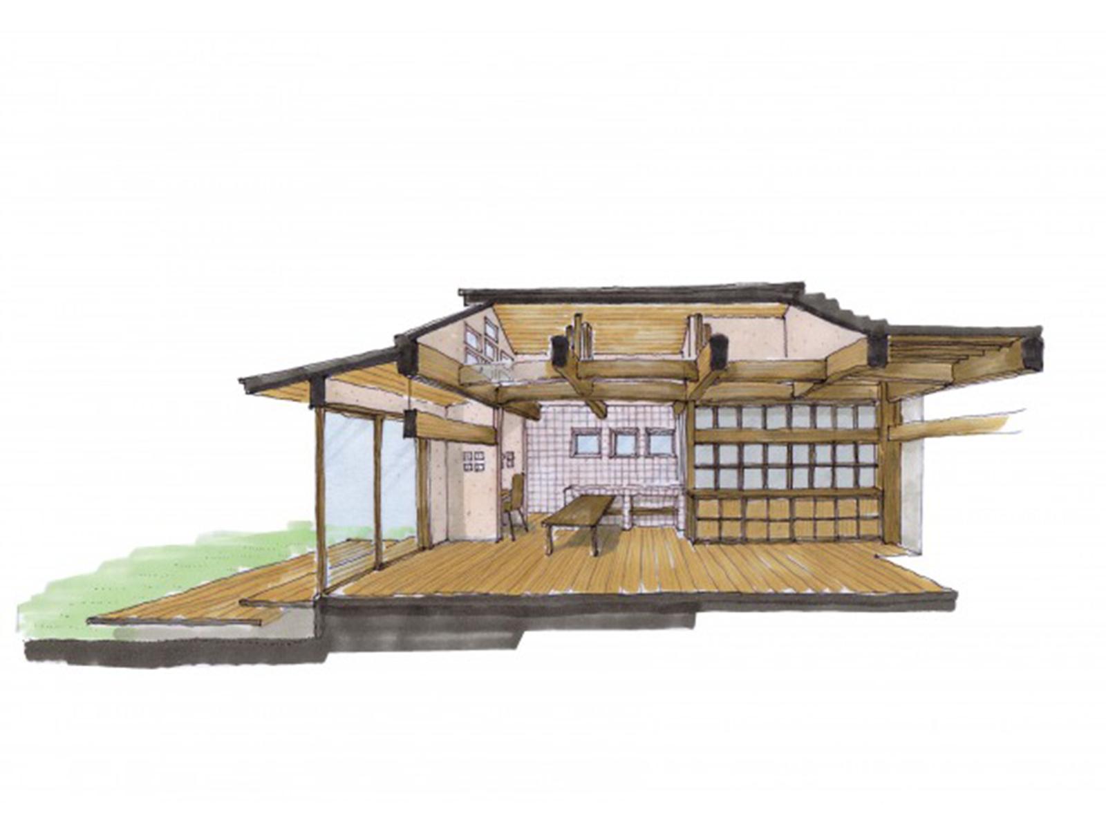 リノベーション 築100年の家
